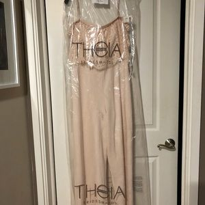 a4f117aadf74 Theia Other - Blush Pink Jumpsuit
